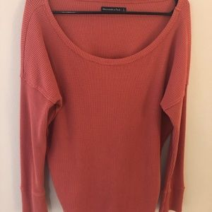 Abercrombie and Fitch Waffle Long sleeve L